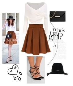 """modern style Wrinkle High Waist skirt bandage high heels"" by fashionvivianguo ❤ liked on Polyvore featuring MICHAEL Michael Kors, rag & bone, modern, women's clothing, women's fashion, women, female, woman, misses and juniors"