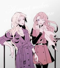 名探偵コナン Detective Conan Vermouth and Yukiko