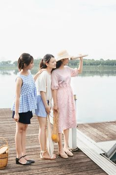 Fashion Group, Ulzzang, Besties, High Low, Spring, Dresses, Vestidos, Dress, Dressers