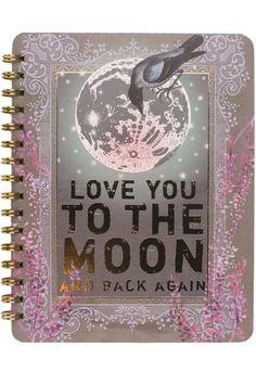 PAPAYA! Art Moon & Back Spiral Notebook - Spiral Notebooks - Cards & Paper - SHOP