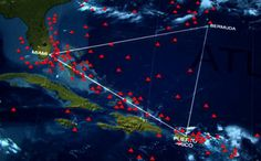 """Is this the news everyone has been waiting for in regards to the Bermuda Triangle? According to an oceanographer, the technology that lies hidden beneath the ocean in the Bermuda Triangle is anything but ordinary and is very likely to have not originated on Earth. Also known as the """"Devil's Tria…"""