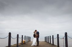Rustic and colourful seaside wedding at East Quay Venue in Whitstable. Photography by http://www.rosshurley.com