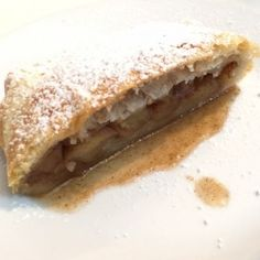 Apple Strudel with Puff Pastry