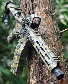 Tactical Rifles, Firearms, Tactical Survival, Weapons Guns, Guns And Ammo, Battle Rifle, Airsoft Gear, Custom Guns, Military Guns