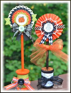 Creating Somewhere Under The Sun: DeNami October Pin-spired - Halloween paper lollie Spools Halloween Iii, Halloween Ornaments, Halloween Cards, Holidays Halloween, Vintage Halloween, Happy Halloween, Halloween Decorations, Spooky Decor, Halloween 2020