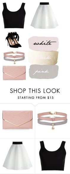 """soft look"" by kennycoptero ❤ liked on Polyvore featuring Sasha, Miss Selfridge, Chicwish, Calvin Klein Collection and Gianvito Rossi"
