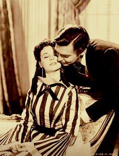 Rhett Scarlett - scarlett-ohara-and-rhett-butler Photo Hollywood Story, Vintage Hollywood, Old Movies, Great Movies, Name That Movie, Rhett Butler, Jack And Elizabeth, Scarlett O'hara, Tomorrow Is Another Day