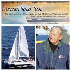 Read about Captain Tommy Cook's Arctic Solo Sail on a Corsair F-31 UC: http://sail.corsairmarine.com/give-me-45-minutes-and-ill-show-unbelievable-sailing-in-the-arctic #corsair #corsairmarine #sail #sailing #catamarans #cats #trimarans #tris #ocean #nautical #arctic