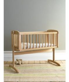 Simple bedside cot by Mothercare