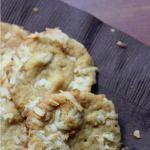 White Chocolate Coconut Macadamia Nut Cookies