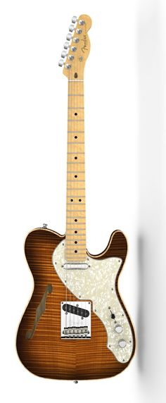 Fender Select Thinline Telecaster® Violin Burst