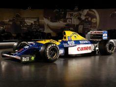 #F1 #HistoricCars Williams FW14B - Renault RS3C / RS4 3.5 V10