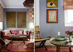 Color and pattern rich. I love all of these inspiration pictures from ditto-worthy designer, @angiehranowsky