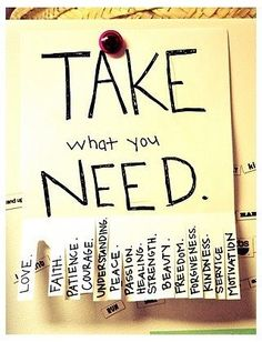 """Vincentia Gerard shares: """" I don't care who pins my stuff or how much ('cause it's not really mine to begin with)."""" We all need something; we all have something. This is why we need each other. Take what you need. Thank you Vincentia. http://www.pinterest.com/owliphant/"""