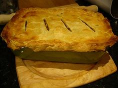 Scottish Steak Pie -hogmanay speciality that's what I'm talking about, make this every New Year