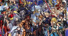 La serie Final Fantasy ha pasado por tantas cosas y tiene tantas iteraciones que todos tenemos nuestros favoritos, hay mucho Final Fantasy entre nosotros.
