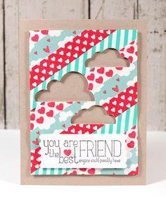 Cute washi tape card