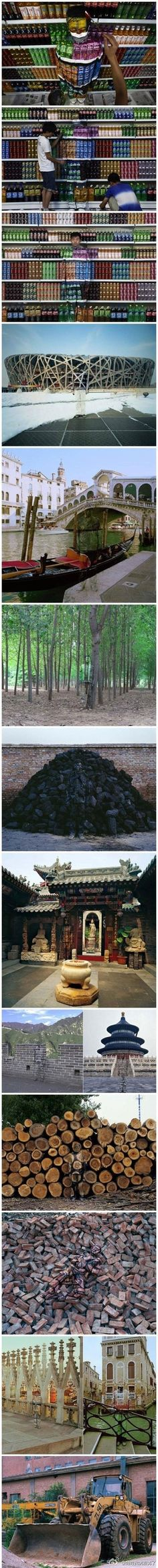 Artist Liu Bolin. This guy has such a great point of view