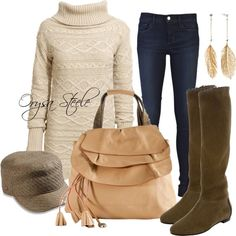 """Soft and Cozy"" by orysa on Polyvore"