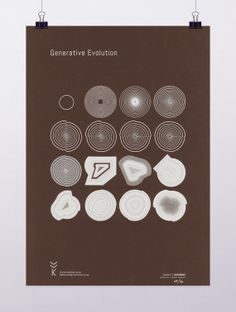 Generative Evolution I by VVKGenerativePrints on Etsy, £6.99