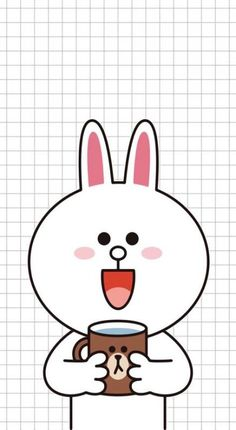Baby ilustration art friends Ideas for 2019 Lines Wallpaper, Brown Wallpaper, Cute Wallpaper For Phone, Couple Wallpaper, Kawaii Wallpaper, Cute Wallpaper Backgrounds, Line Cony, Cony Brown, Brown Bear
