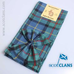 MacLeod of Harris Ancient Tartan Mini Sash from ScotClans