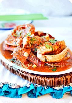 Singapore Chilli Crab!!! Omg! I miss this!!! I'll attempt to make this but with shrimp