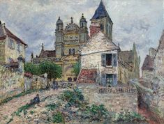 The Church at Vetheuil 1879-Claude Monet