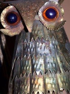 Metal owl.......