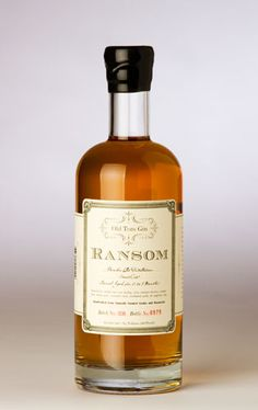 Old Tom Gin - Ransom Spirits
