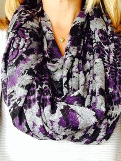 Infinity scarf  on Etsy, $20.00