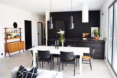 Puustelli Miinus keittiö kök kitchen Conference Room, New Homes, Kitchen, Table, Inspiration, Furniture, Home Decor, Cooking, Homemade Home Decor