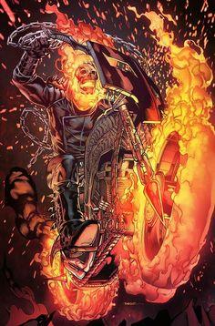 Ghost Rider by deffectx on deviantART Marvel Comic Universe, Marvel Comics Art, Marvel Heroes, Ms Marvel, Captain Marvel, Ghost Rider Johnny Blaze, Ghost Rider Marvel, Comic Books Art, Comic Art