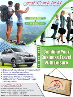 Fred Travels understands the need of a car for an employee on his business travel.Book with Fred Travels as we are leading business travel operators in providing cars and conducting city tours. Premium Cars, In Mumbai, Tour Operator, Travel And Leisure, Car Rental, Business Travel, Stress Free, Exhibitions, Organizations