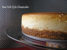 the repressed pastry chef: New York Style Cheesecake