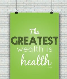 The Greatest Wealth is Health cleanstronghealthy.com