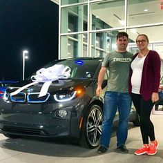 Congratulations to Mr. and Mrs. Gene & Samantha C. on the purchase of their new BMW I3 from our Daytona Beach location. We wish you both a Happy New Year and many safe and happy miles in your Ultimate Driving Machine. #FieldsBMW #congratulations #newcar #newBMWowner #BMWOwner  #BMWi #BMWi3 #i3 #electric #electriccar #green #allelectric #greentransportation #ecofriendly #cars #automotive #autos #vehicles #FieldsBMW #BMW #Florida