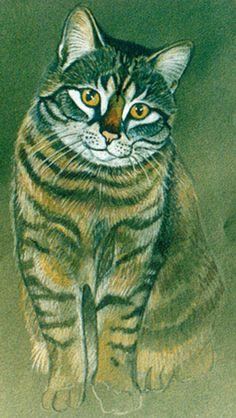 """""""Cat"""" par Karin Zeller"""