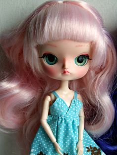 Lolli Pop's sister Custom Ooak Dal doll by malkama by Malkama