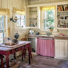 A kitchen like this ❤️