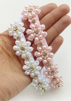 Baby Girl Headbands, Pearl Earrings, Pearls, Diy, Crafts, Jewelry, Fashion, Infant Hair Bows, Boutique Hair Bows