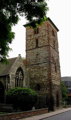 Anglo-Saxon tower, Colchester.
