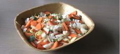 Een lekker koolhydraatarm hoofdgerecht, rijkgevulde groentesoep. De groentesoep is rijk gevuld en bereid met verse groenten! Uit een pan kan je zo'n 5 tot 8 kommen halen.