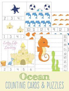 FREE Ocean Printables