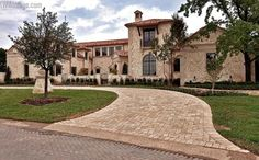 10,500 Square Foot Mediterranean Stone Mansion In A Gated Subdivision In Dallas, TX « Homes of the Rich – The Web's #1 Luxury Real Estate Blog