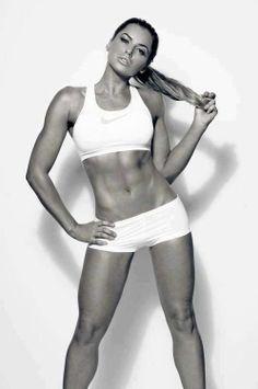 Fit girl showing off her squats bum bikini body