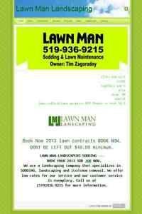 LAWNMAN 519-936-9215