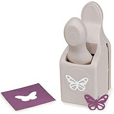 @Overstock.com - Martha Stewart Embossed Butterfly Double Punch - This double punch from Martha Stewart features a monarch butterfly design. This cute paper punch is great for scrapbooking or any other paper craft project.  http://www.overstock.com/Crafts-Sewing/Martha-Stewart-Embossed-Butterfly-Double-Punch/5321737/product.html?CID=214117 $11.89