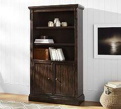 Bookshelves & Cabinet Furniture   Pottery Barn