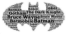 Personalised word art print dc comics batman #childrens #adult #birthday gift,  View more on the LINK: http://www.zeppy.io/product/gb/2/191706291872/